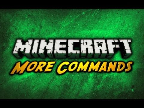 Minecraft: More Single Player Commands!