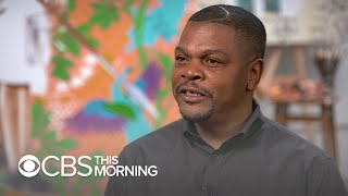 "Artist Kehinde Wiley's new statue is ""speaking back"" to those looking at Confederate monuments"