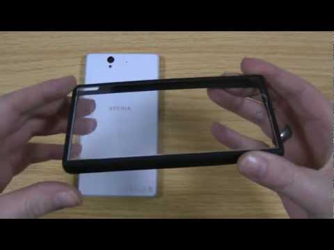 Roxfit Sony Xperia Z Bumper Gel Shell Case Review - Made for Xperia