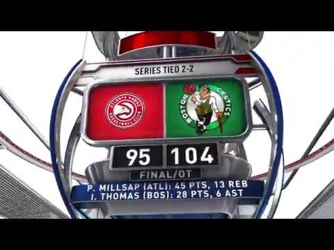 Atlanta Hawks vs Boston Celtics - April 24, 2016