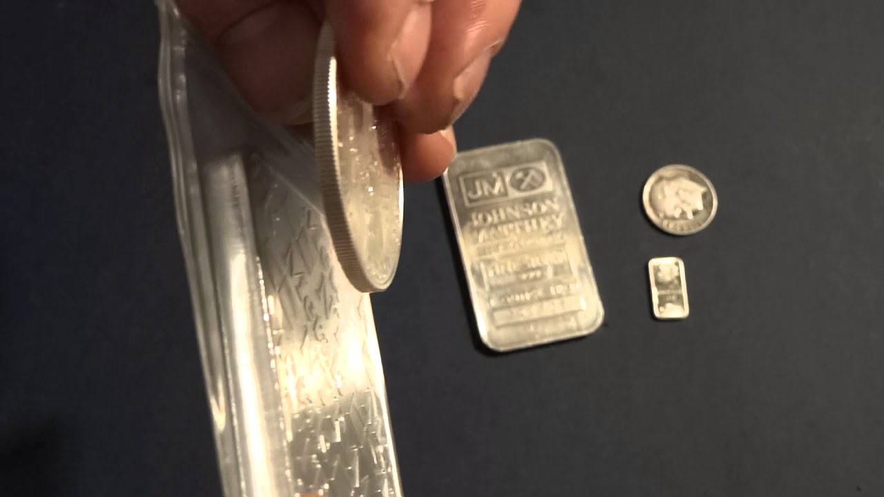 1 Gram 1 Oz 10 Oz Silver Bars Youtube