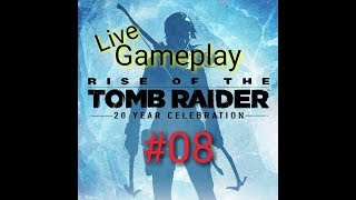 PS4 / RISE OF THE TOMB RAIDER / deutsch / Gameplay / LIVE / Baba Yaga / #08
