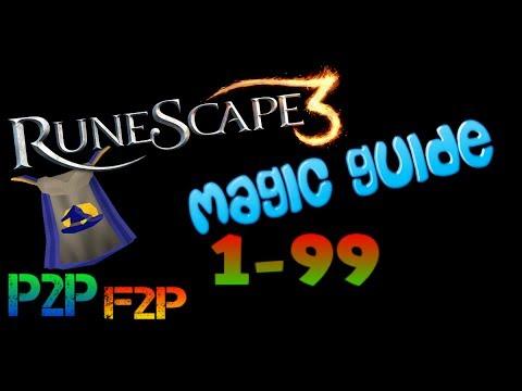 Runescape 1-99 Magic guide (P2P) VERY FAST 480k XP/H =2013 November=