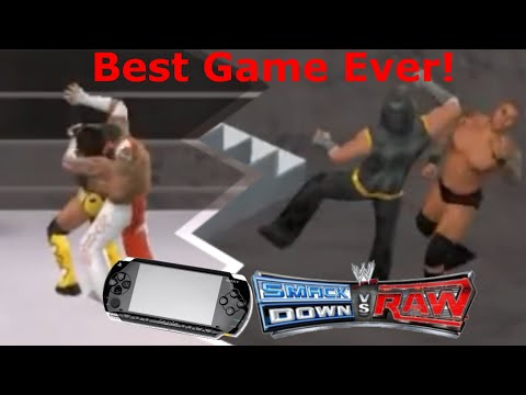WWE Smackdown Vs Raw 2011 (PSP) - Funny Gameplay !! #1