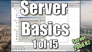 Server Basics (1) | Setup a Domain Controller | Windows Server 2008 R2