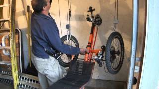 How To Store and Hang A Recumbent Trike