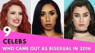 9 Celebrities Who Came Out As BISEXUAL In 2016!