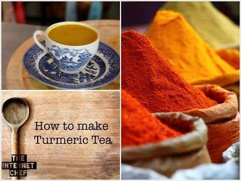 Health benefits of Turmeric Tea and How to make it.