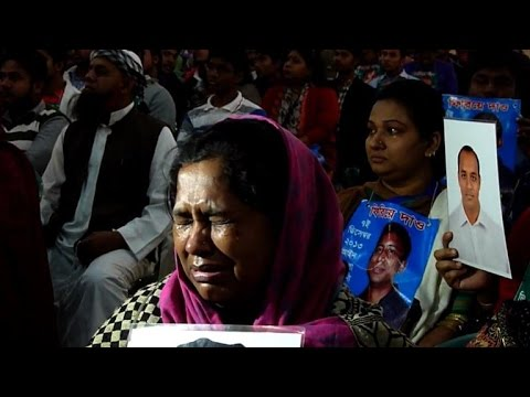 Relatives of Bangladesh's missing hundreds protest
