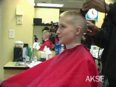 Kat's High and Tight Haircut at Chiseler Barbershop #6 - YouTube