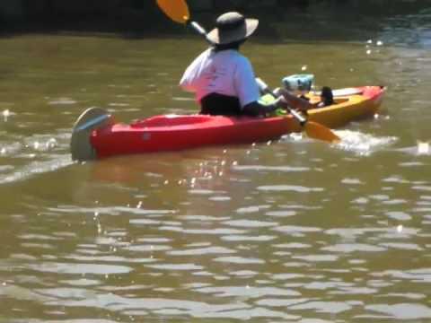 DIY Kayak Fixed Rudder