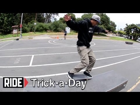 How-To Frontside Nosegrind With Adrian Williams - Trick-a-Day