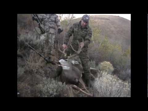 Nevada Mule Deer One Shot Kill - MossBack