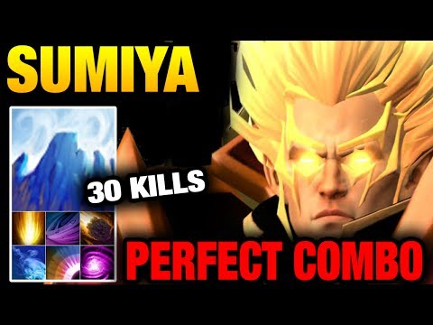 SUMiYa Invoker God Dota 2 - EPIC SKILLS Combo Best ICE Wall