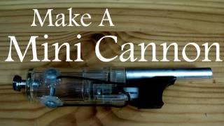 Çakmaktan mini oyun amaçlı silah yapımı