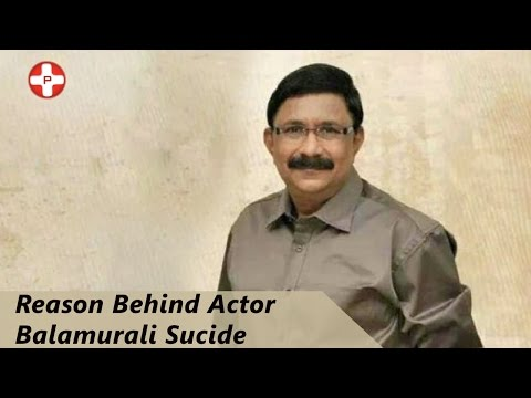 Why Tamil Actor Balamurali Committed Suicide? video