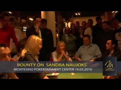 BOUNTY on Poker Pro Sandra Naujoks im MONTESINO Video