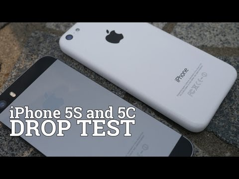 iPhone 5S and 5C Drop Test!