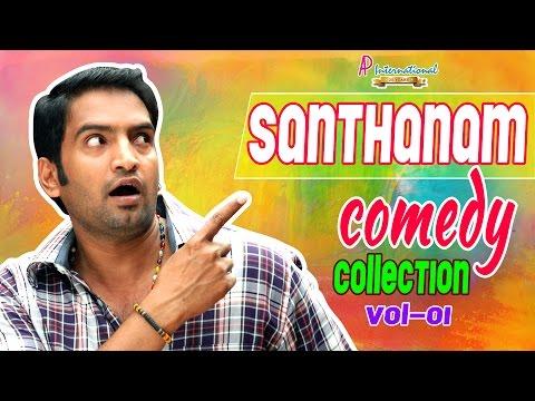 Santhanam Comedy | Scenes | latest | 2015 | Santhanam Comedy Collection -Vol 1