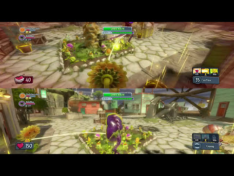 Plants vs. Zombies Garden Warfare - Lexi & Ethan Splitscreen (pt. 9) (Xbox One Gameplay)