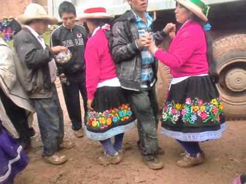 Fiesta en cuzca-parobamba-pomabamba
