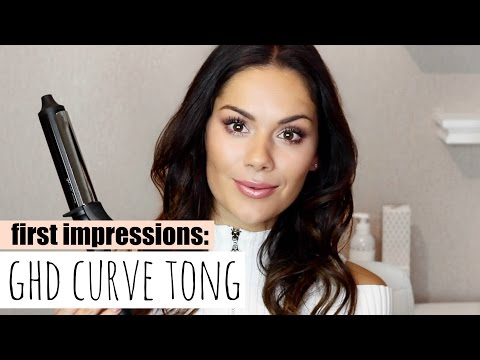LOOSE WAVES WITH THE NEW GHD CURVE SOFT CURL TONG   Beauty's Big Sister