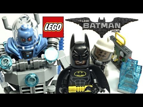 LEGO Batman Movie Mr. Freeze Ice Attack review! 2017 set 70901!
