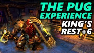 THE PUG EXPERIENCE - KING'S REST MYTHIC +6 - Protection Warrior - World of Warcraft