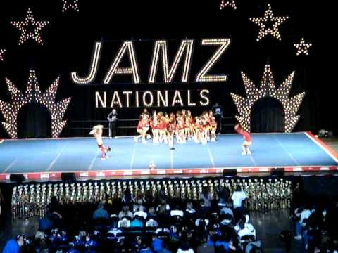 WHITTIER REDSKINS CHEER LAS VEGAS JAMZ NATIONALS 08-09