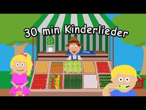 30 Minuten Kinderlieder Zum Lernen Auf Deutsch - Kinderlieder Zum Mitsingen Und ABC Lernen