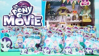 MLP Blind Bags ! Toys and Dolls Fun Opening My Little Pony The Movie Ponies & Canterlot Playset
