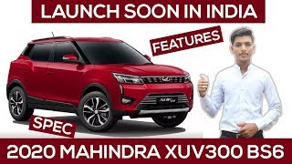 2020 Mahindra XUV300 Spotted For First Time   Launch Soon In India   हिंदी में   Features   Spec