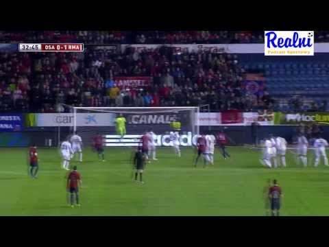 "CA Osasuna vs Real Madrid C.F. 0:2 All goals & all shots ""Short version"" [Copa del rey 15.01.2014]"