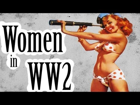 American Women In Ww2 - U.s. Army Girls - It's Your War Too (1944) Full Length Educational Film video