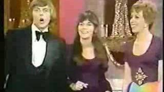 Richard and Karen Carpenter in Carol Burnett show