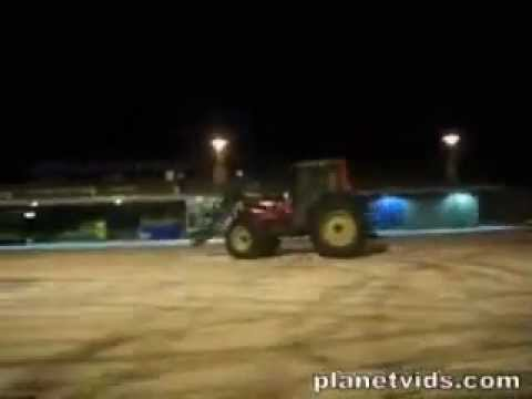Tractor Drifting ( FUNNY VIDEO )