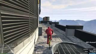GTA 5( PC) Гонка на BMX которая шла 22 минуты