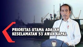 Kapal Selam KRI Nanggala-402 Hilang, Jokowi Ajak Masyarakat Berdoa