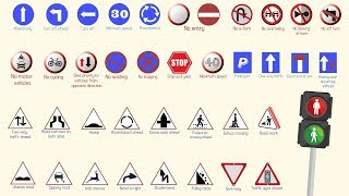 Learn English Vocabulary: Road Signs (in the United Kingdom)
