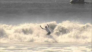 Kelly Slater Perfect 10 on Quiksilver Pro New York