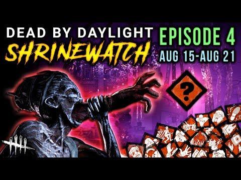 [SHRINEWATCH #4] Aug 15-21 - Dead by Daylight Shrine of Secrets with HybridPanda