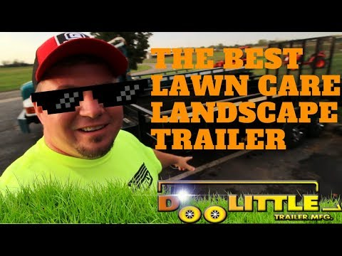 DooLittle T-8416 The Best Lawn Care/Landscape Trailer! In-Depth!