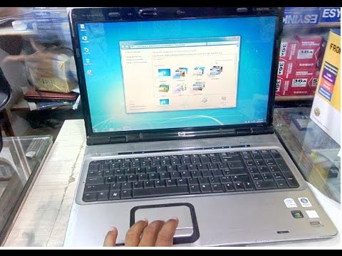 HP Pavilion DV9000 Commercial Laptop Hands On & Review