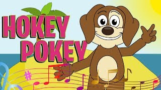 Hokey Pokey | Nursery Rhymes And Kids Songs | Puppy Hey Hey