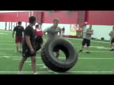 IU Wrestling Preseason Workouts Image 1
