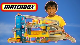 Matchbox 4-Level Garage Toy Play
