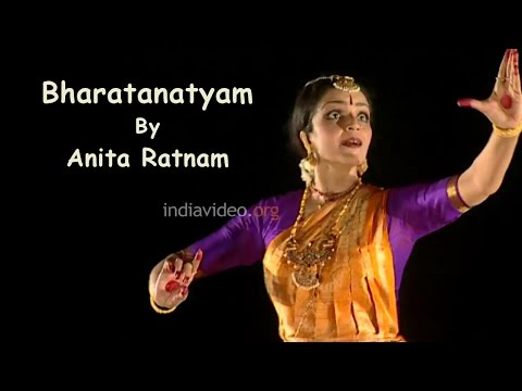 Bharatanatyam Classical Dance Performance By Anita Ratnam - Composition Sirulu Minchina video