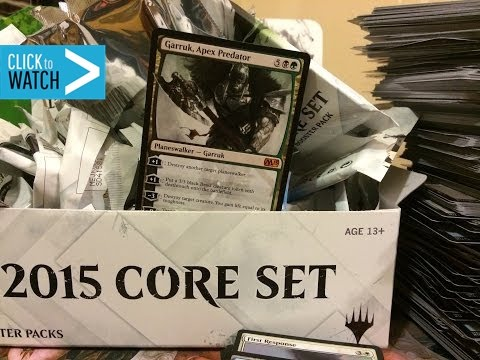 EPIC M15 Booster Box Opening GARRUK!!!!!
