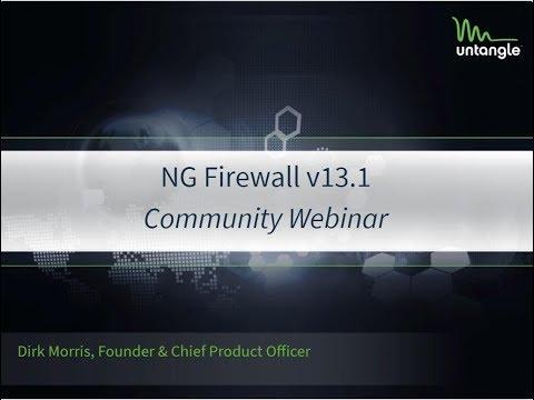 Community Webinar: v13 1