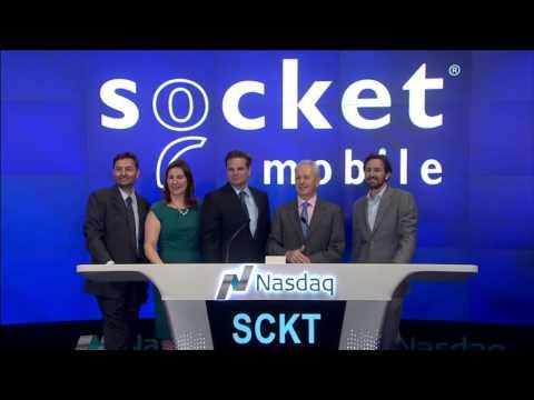 Socket Mobile NASDAQ Closing Bell Ceremony
